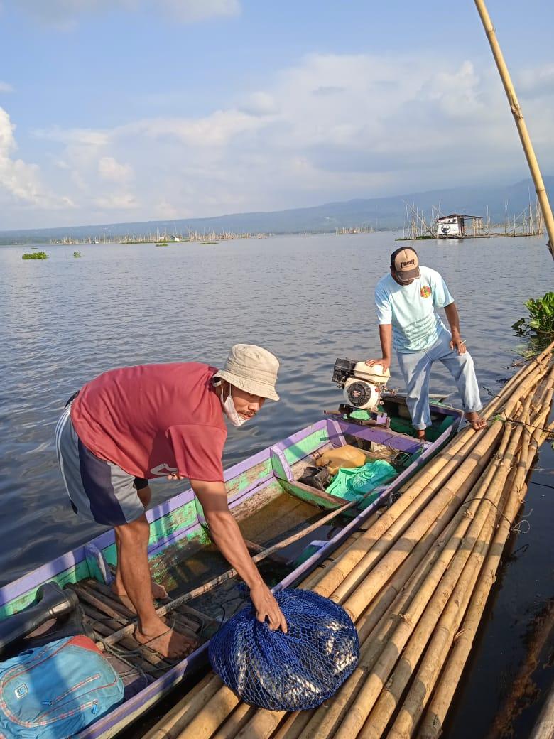 Demi mencukupi kebutuhan Febry Banteng Haluan Mencari Ikan