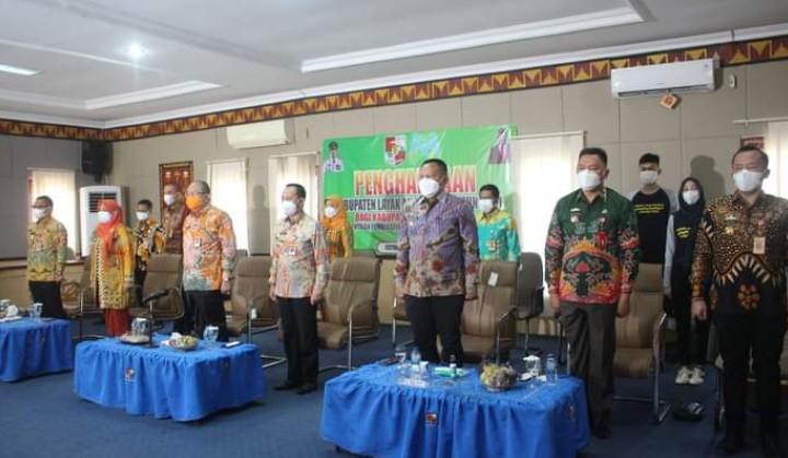 Lampung Utara Raih Penghargaan Pratama Kabupaten Layak Anak